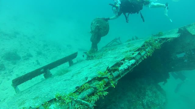 Diving in Guam, Naval Base Guam - By Michael Kirby